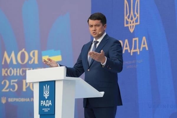 Разумков считает, что менять форму правления в Украине не нужно