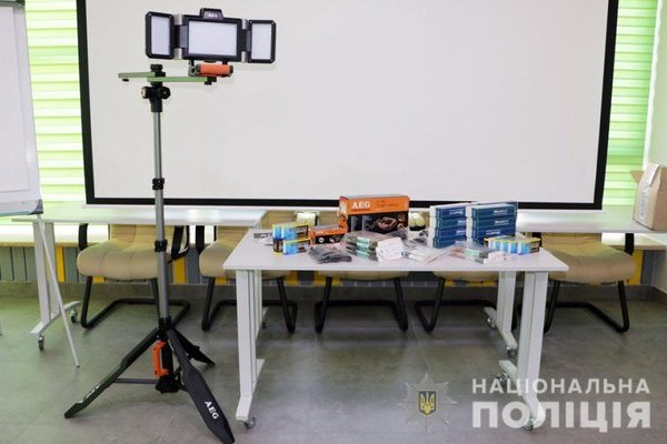 Евросоюз подарил полиции Донецкой области новое оборудование для криминалистов