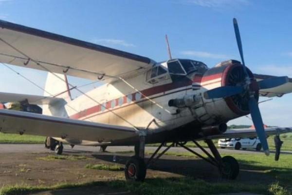 Пограничники задержали самолет, который незаконно из Румынии приземлился в Житомирской области