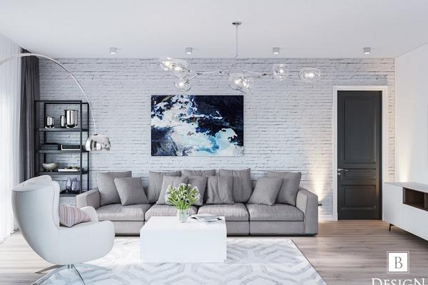 B-Design: авторский дизайн гостиной