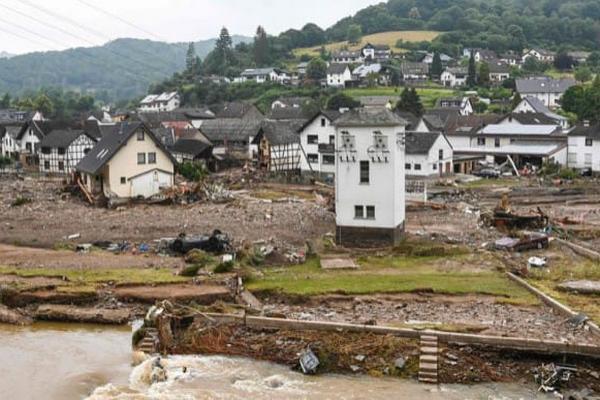 Число погибших в результате наводнения в Германии выросло до 156