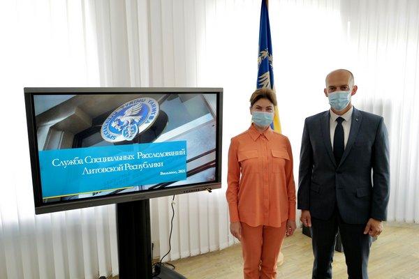 Венедиктова встретилась с представителями литовских правоохранительных органов