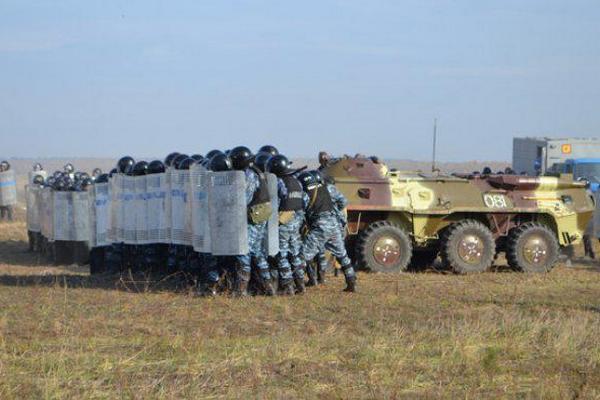 Масштабные учения МВД прошли в Ривненской области