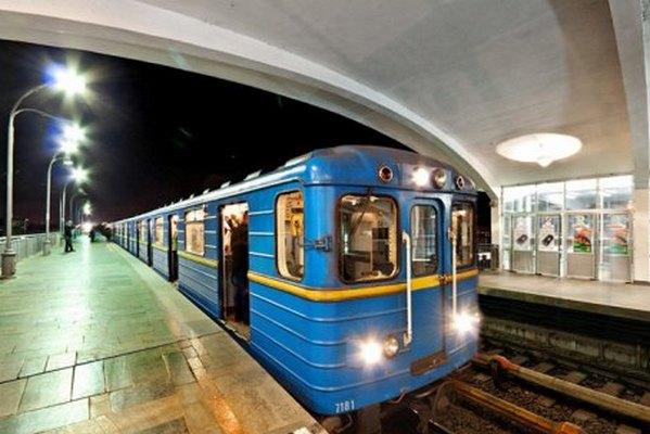 В Киеве продлят работу метрополитена в ночь на воскресенье в связи матчем Украина-Англия