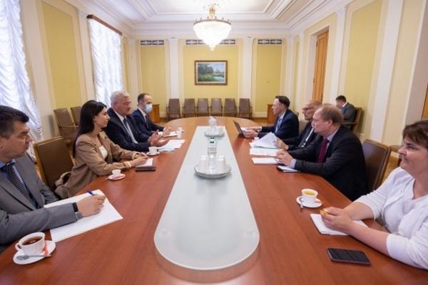 В Офисе Президента обсудили с делегацией ПАСЕ ход реформ в Украине