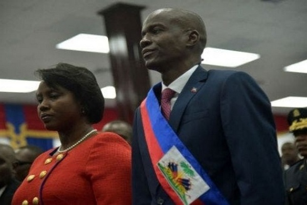 Супруга убитого президента Гаити вернулась в страну