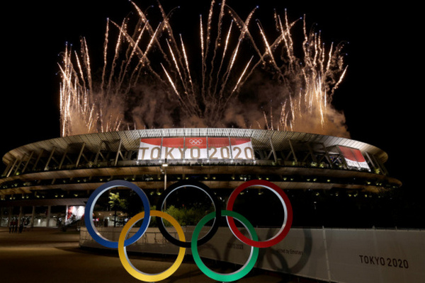 В Токио прошла церемония открытия Олимпиады-2020