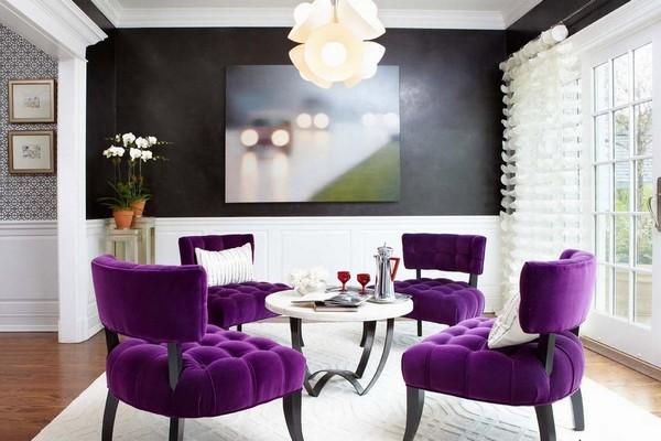 Дизайнерские стулья в современном интерьере