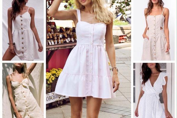 Правила выбора летних платьев для жаркой погоды