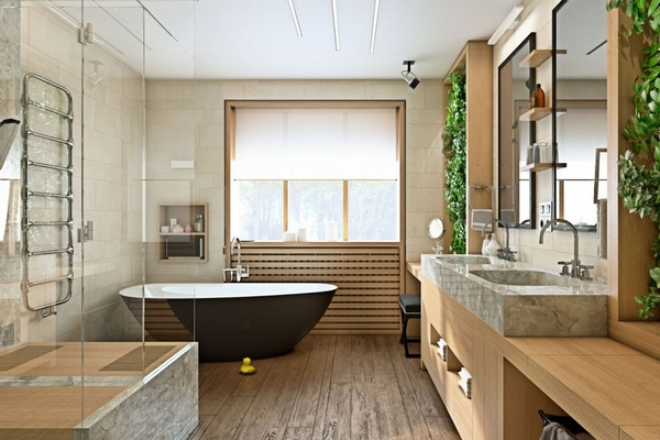Дизайн ванной комнаты 2021 – что в тренде?