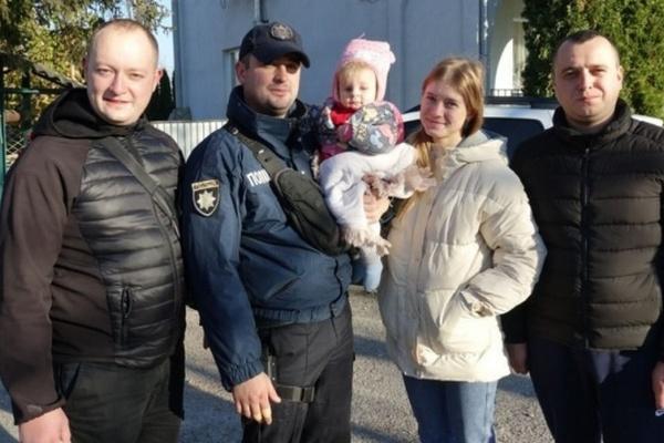 Полиция два дня искала 9-месячную девочку, похищенную во Львове