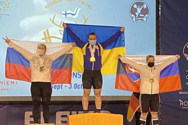 Украинские тяжелоатлеты завоевали 30 медалей на Чемпионате Европы среди юниоров и молодежи